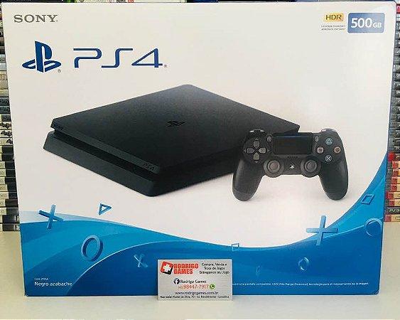 Console - PS4 Slim 500GB ( Novo Lacrado )