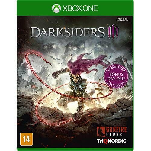 Darksiders 3 - XBOX ONE ( Novo )