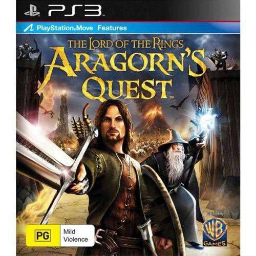 Lord Of The Rings Aragorns Quest - Ps3 ( USADO )