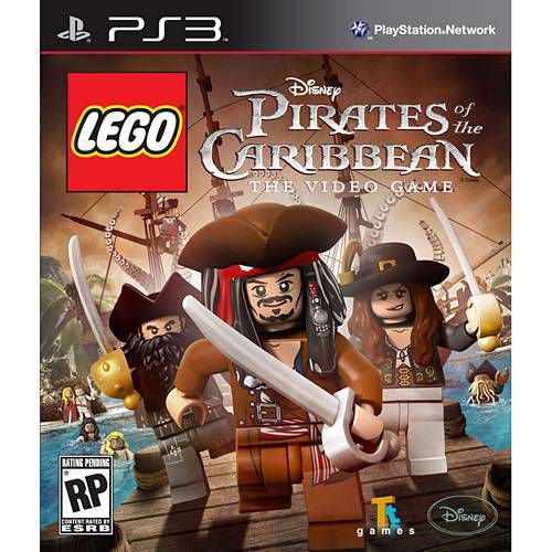 Lego Piratas Do Caribe: The Video Game - PS3 ( USADO )