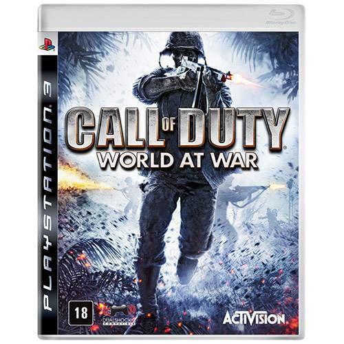 Call of Duty World at War - PS3 ( USADO )
