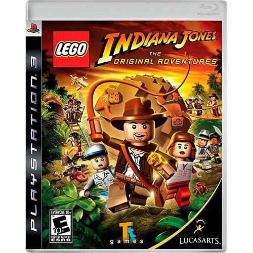 Lego Indiana Jones: The Original Adventures - PS3 ( USADO )