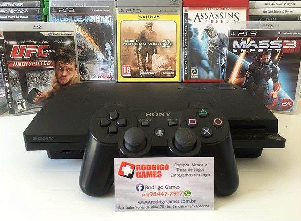 Console PS3 com 5 Jogos ( USADO )