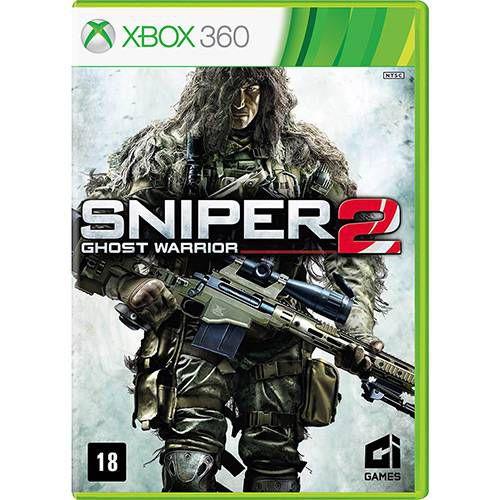 Sniper: Ghost Warrior 2 - XBOX 360 ( USADO )