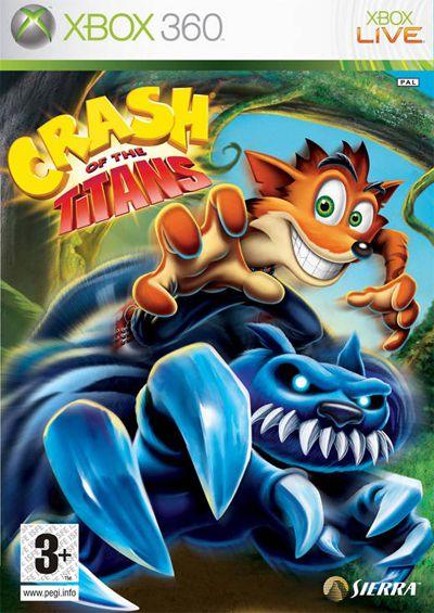 Crash of the titans - Xbox 360 ( USADO )