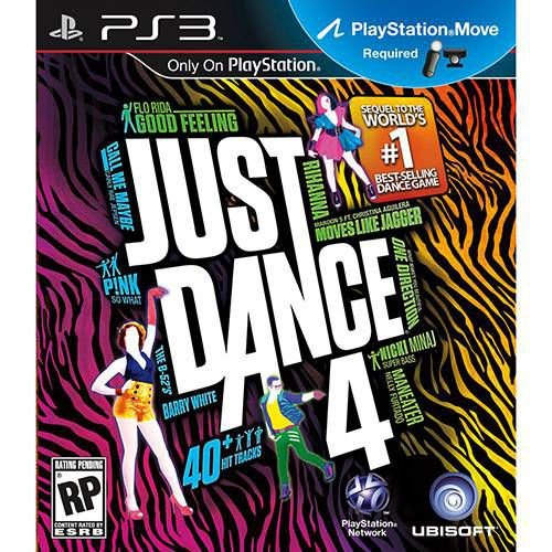 Just Dance 4 - PS3 ( USADO )