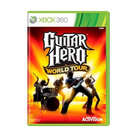 Guitar Hero World Tour - Xbox 360 ( USADO )