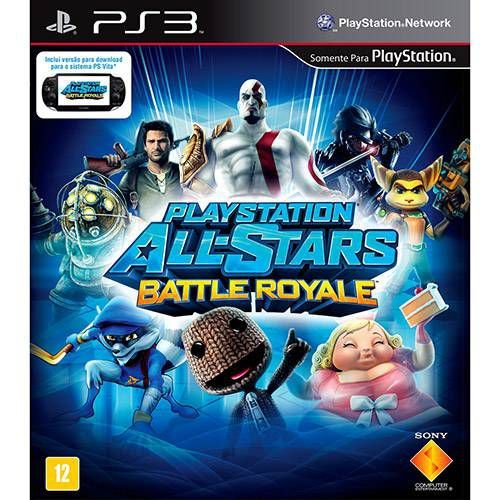 PlayStation - All Stars Battle Royale - PS3 ( USADO )