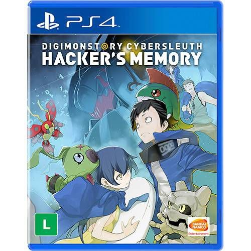 Digimon Story Cyber Sleuth Hacker's Memory - PS4 ( NOVO )