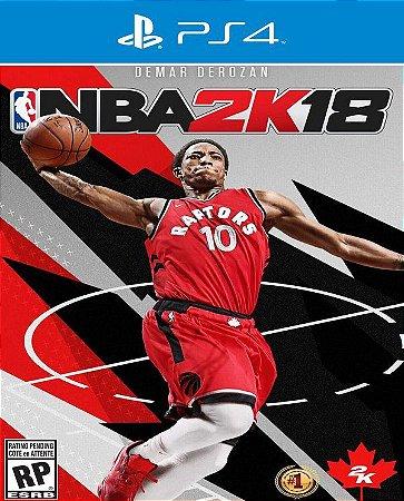 NBA 2K18 - PS4 ( USADO )