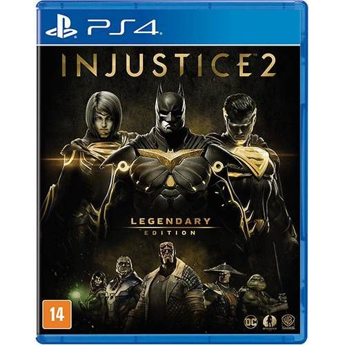 Injustice 2: Legendary Edition - PS4 ( USADO )