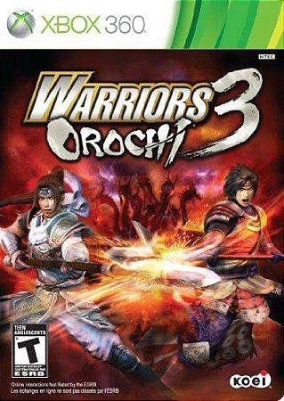 Warriors Orochi 3 - Xbox 360 ( USADO )