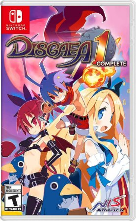 Disgaea 1 Complete - Nintendo Switch ( NOVO )