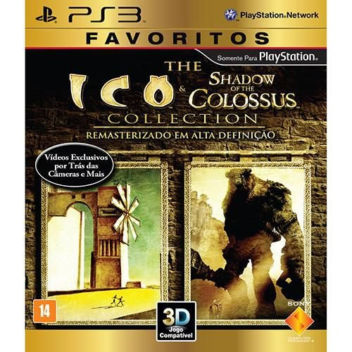 Ico & Shadow of The Colossus - PS3 ( NOVO )
