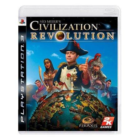Sid Meiers Civilization Revolution - Ps3 - ( USADO )
