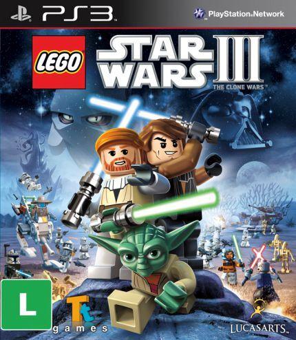 LEGO Star Wars III: The Clone Wars - PS3 ( USADO )
