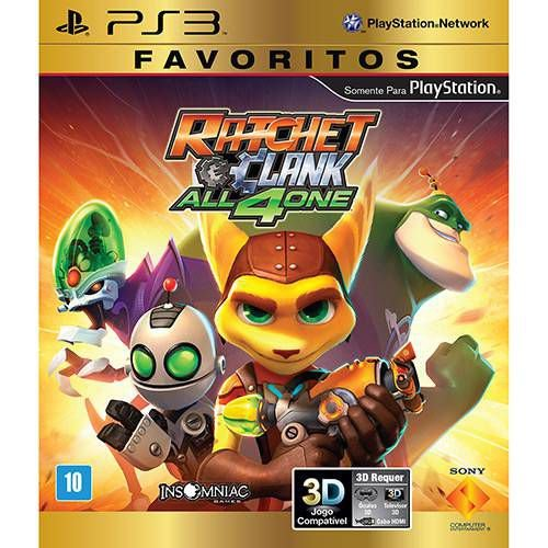 Ratchet and Clank All 4 One - PS3 ( USADO )