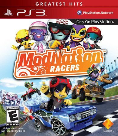 Modnation Racers - Ps3 ( USADO )