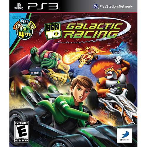 Ben 10 Galactic Racing - PS3 ( USADO )