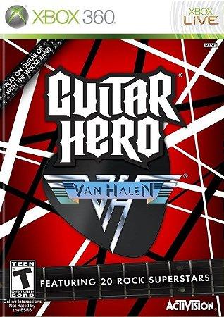 Guitar Hero Van Halen - XBOX 360 ( USADO )