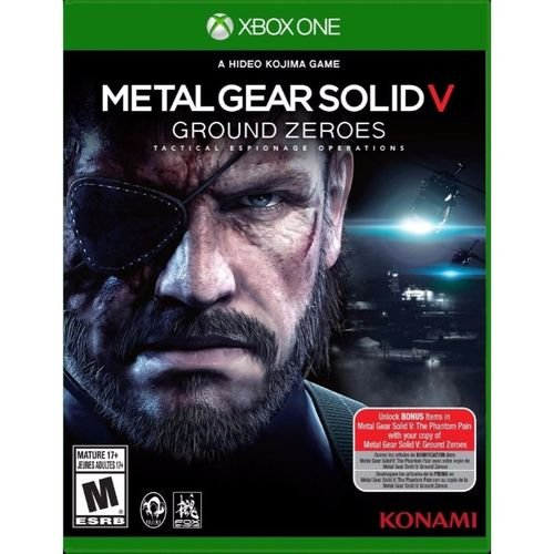 Metal Gear Solid Ground Zeroes - Xbox One ( USADO )