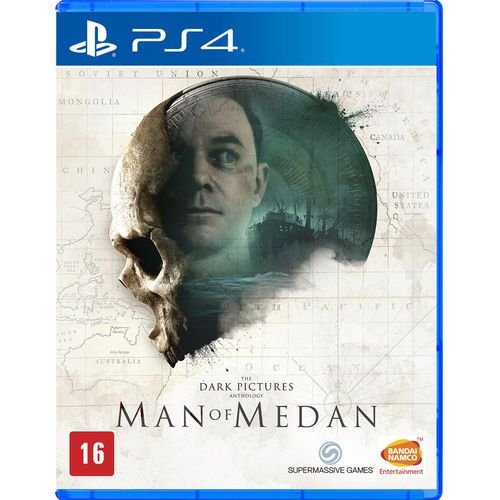 The Dark Pictures Man Of Medan - Ps4 ( Usado )