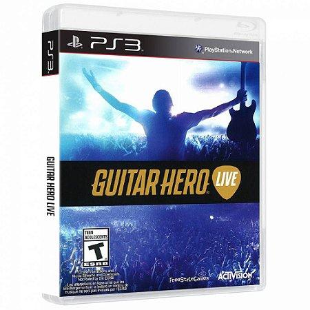 Guitar hero live - Ps3 ( USADO )