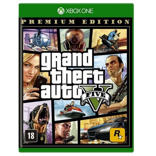 Grand Theft Auto V Premium Edition Gta 5 - Xbox One ( NOVO )