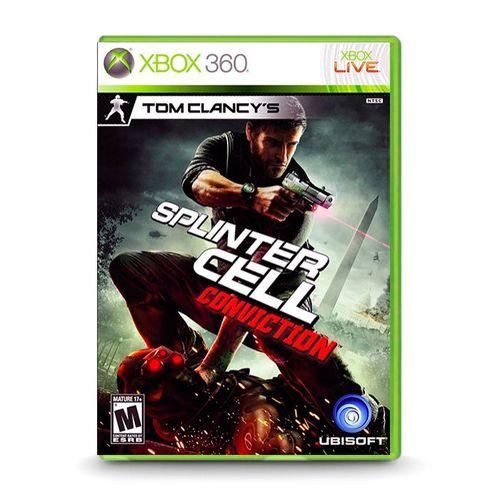 Tom Clancy's Splinter Cell Conviction - Xbox 360 ( USADO )
