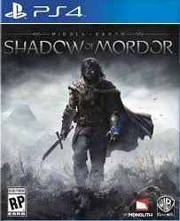 Terra-Média Sombras de Mordor - PS4 ( USADO )