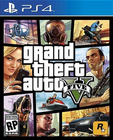 Gta V - PS4  ( NOVO )