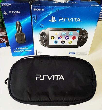 Console - Ps Vita com cartão de 32GB + Acessórios ( USADO )