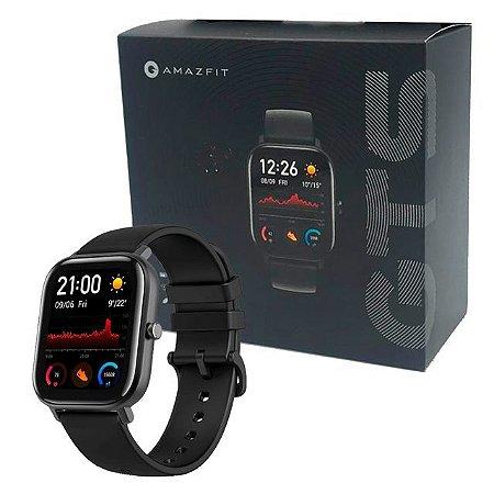 Relógio Amazfit GTS Versão Global - Preto