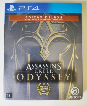 Assassins Creed Odyssey Ed.Deluxe Steelbook - PS4 ( USADO )