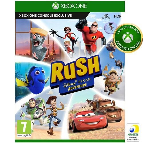 Rush Disney pixar Adventure - Xbox One ( USADO )