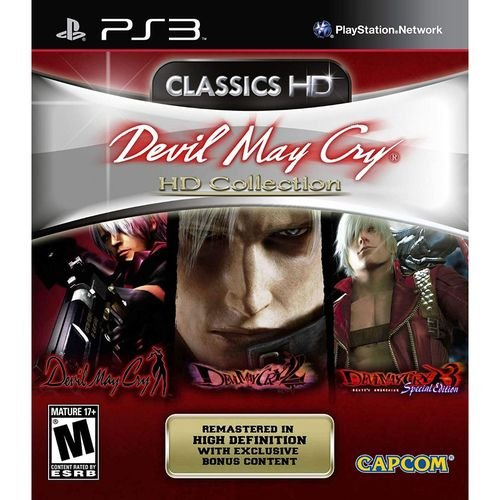 Devil May Cry CLASSICS HD collection - PS3 ( USADO )