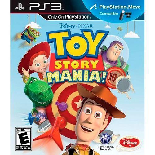 Toy Story Mania - PS3 ( USADO )