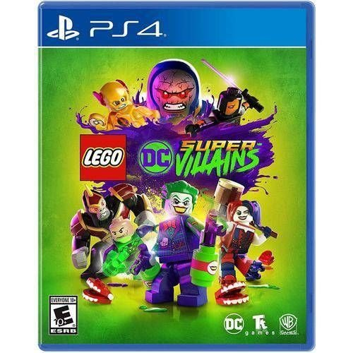 LEGO DC Super-Villains - PS4 ( USADO )