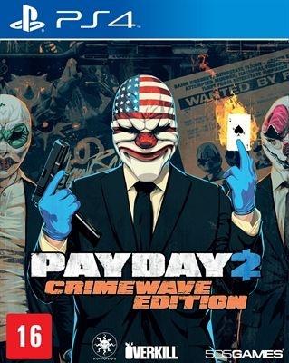 PAYDAY 2: CRIMEWAVE EDITION PS4 ( USADO )
