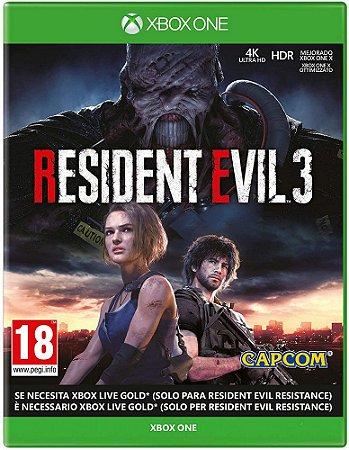 Resident Evil 3 - Xbox One ( USADO )