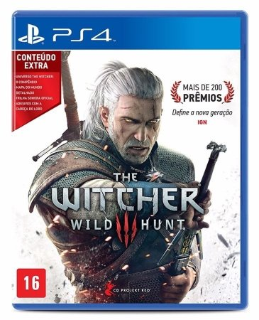 THE WITCHER 3 WILD HUNT - PS4 ( Usado )
