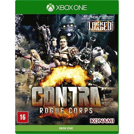 Contra - Rogue Corps - Xbox One ( NOVO )
