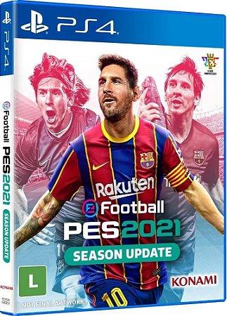 Pro Evolution Soccer Efootball Pes 2021 - Ps4  ( NOVO )