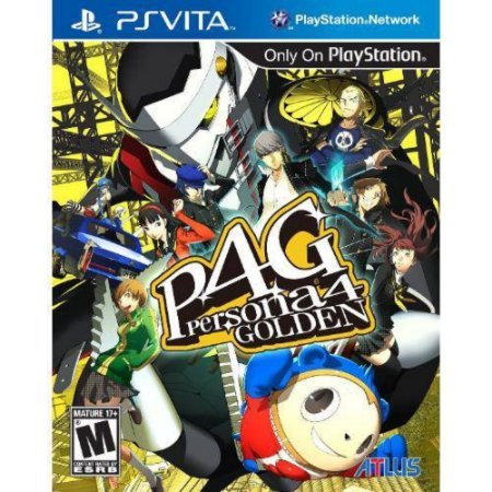 Persona 4 Golden - Ps Vita ( USADO )