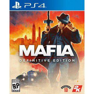 Mafia Definitive Edition - Ps4 ( Pré-Venda 25/09 )