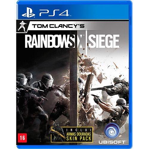 TOM CLANCYS RAINBOW SIX: SIEGE - PS4 ( NOVO )