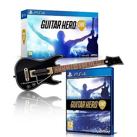 GUITAR HERO LIVE BUNDLE - PS4 ( USADO )