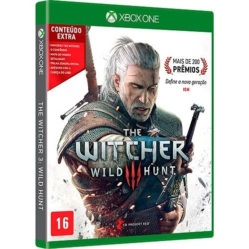 THE WITCHER 3 WILD HUNT - XBOX ONE ( USADO )