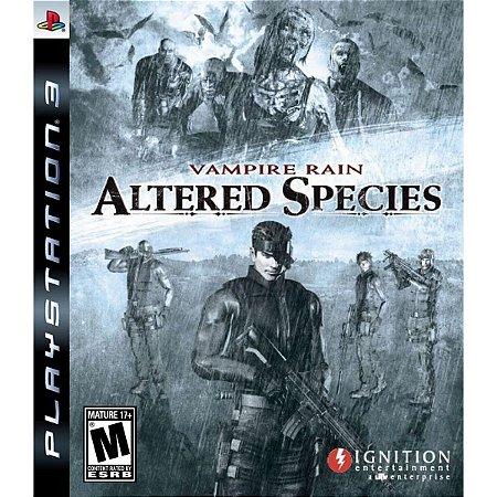 Vampire Rain Altered Species - Ps3 ( USADO )