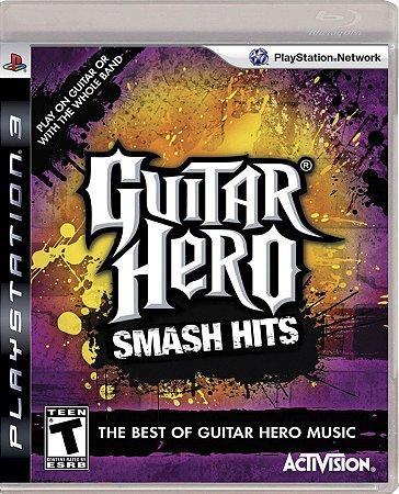 Guitar hero smash hits - Ps3 ( USADO )